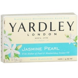 Yardley London Jasmine Pearl Bar Soap, 4.25 oz