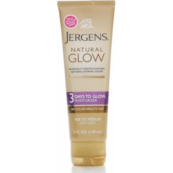 Jergens Natural Glow Face Fair To Medium Review