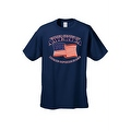 Men's USA Flag T Shirt Patriotic Home of the Free United States of America Tee - Thumbnail 0