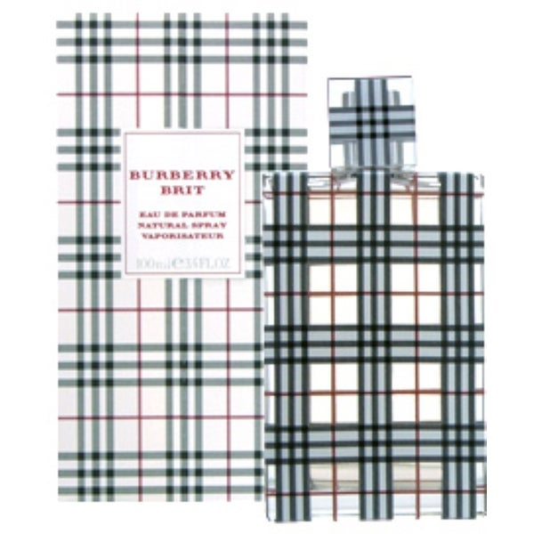 Burberry Brit Eau de Parfum Spray for Women 3.4 oz