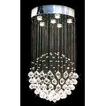 Modern Contemporary *Rain Drop* Chandelier Lighting With Crystal Balls - Thumbnail 0