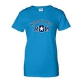 JUNIORS T-SHIRT World's Best Mom MOTHER TEE MOMMY SUPER MAMMA SPORTS TOP S-2XL - Thumbnail 2