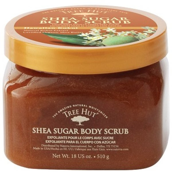 Tree Hut Shea Sugar Scrub, Hawaiian Kukui 18 oz
