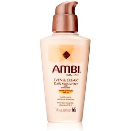 Ambi Skin Care Even & Clear Daily Moisturizer SPF 30 3 oz
