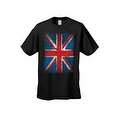MEN'S T-SHIRT Distressed British Flag GREAT BRITAIN PATRIOTIC UNITED KINGDOM TEE - Thumbnail 4