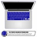 "For Macbook Air 13"" A1466/A1369 Rubberized Hard Shell Matte Case Cover with Keyboard Skin - Thumbnail 23"