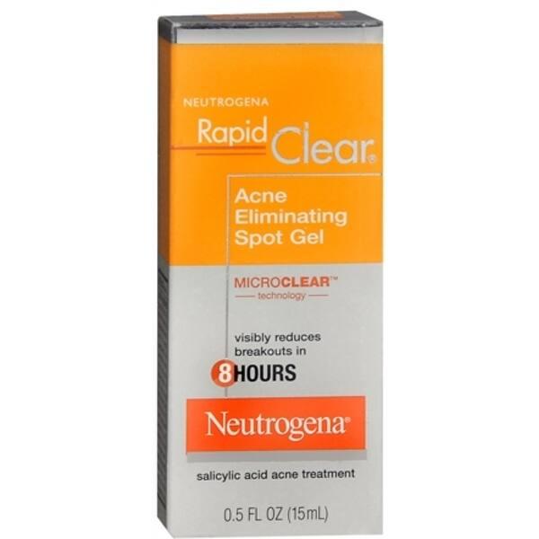 Shop Neutrogena Rapid Clear Acne Eliminating Spot Gel 0 50 Oz
