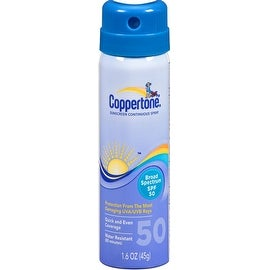 Coppertone 1.6-ounce Continuous Sunscreen Spray SPF 50