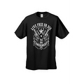 Men's T-Shirt Live Free or Die 2nd Amendment Guns Constitution Gun Control - Thumbnail 3