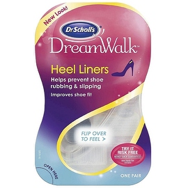 Dr. Scholl's DreamWalk Clear Gel Heel Liner (1 Pair)