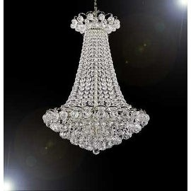 French Empire Crystal Chandelier Lighting With Crystal Balls
