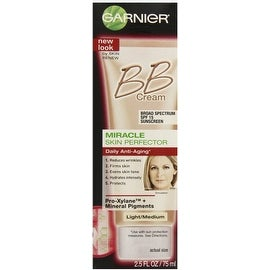 Garnier Skin Renew Miracle Skin Perfector Anti-Aging BB Cream SPF 15 Light/Medium 2.50 oz