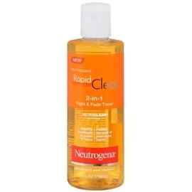 Neutrogena Rapid Clear 2-in-1 Fight & Fade Toner 8 oz