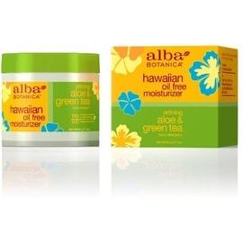 Alba Botanica Hawaiian Oil-Free Moisturizer, Refining Aloe & Green Tea 3 oz