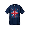 MEN'S T-SHIRT Distressed British Flag GREAT BRITAIN PATRIOTIC UNITED KINGDOM TEE - Thumbnail 6