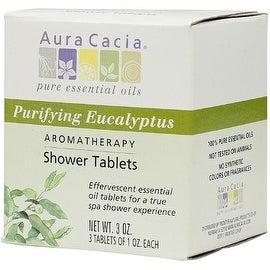 Aura Cacia Aromatherapy Shower Tablets, Purifying Eucalpytus 3 ea (4 options available)