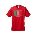 Men's Funny T-Shirt Made In Italy Humor Italian Pride Barcode Flag Jersey Shores - Thumbnail 5