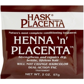Hask Henna 'n' Placenta Conditioning Treatment, 2 oz