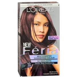 L'Oreal Paris Feria Multi-Faceted Light Auburn Black [32]