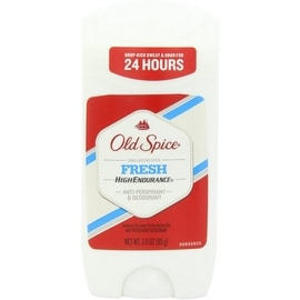 Old Spice High Endurance Anti-Perspirant Deodorant Invisible Solid Fresh 3 oz