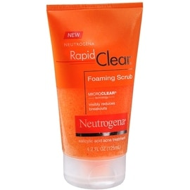 Neutrogena Rapid Clear Foaming Scrub 4.20 oz