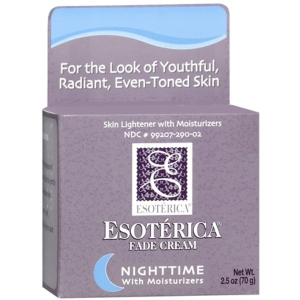 Esoterica Fade Cream Nighttime With Moisturizers 2.50 oz
