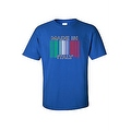 Men's Funny T-Shirt Made In Italy Humor Italian Pride Barcode Flag Jersey Shores - Thumbnail 2