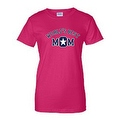 JUNIORS T-SHIRT World's Best Mom MOTHER TEE MOMMY SUPER MAMMA SPORTS TOP S-2XL - Thumbnail 5