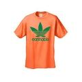 MEN'S FUNNY T-SHIRT Cannabis MARIJUANA WEED GRASS POT SMOKING TEE LEAF S-5XL - Thumbnail 7
