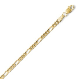 10k Gold 3.0mm Figaro Chain