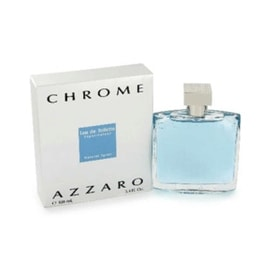 Azzaro Chrome Eau de Toilette for Men 3.4 oz