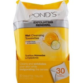 Pond's Wet Cleansing Towelettes, Morning Fresh, 30 Each