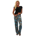 Women's Juniors Authentic True Timber Pants Camouflage Hunt Camo BLUE - Thumbnail 0