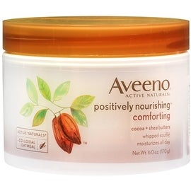 AVEENO Active Naturals Positively Nourishing 24-Hour Ultra-Hydrating Whipped Souffle 6 oz