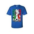 MEN'S SPORTS T-SHIRT MARILYN ITALY SOCCER TEAM FLAG FUTBOL FOOTBALL TEE S-5XL - Thumbnail 7