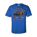 MEN'S T-SHIRT 'RUSTY NUTS AUTO SHOP' USED PARTS CAR AUTOMOBILE S-XL 2X 3X 4X 5X - Thumbnail 3