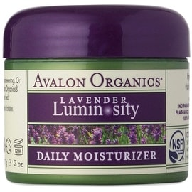 Avalon Organics Lavender Luminosity Daily Moisturizer 2 oz