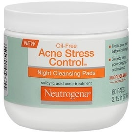Neutrogena Acne Stress Control Night Cleansing Pads 60 Each