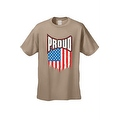 MEN'S T-SHIRT Proud American Distress Flag PATRIOTIC USA STARS & STRIPS TEE S-5X - Thumbnail 0