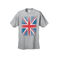MEN'S T-SHIRT Distressed British Flag GREAT BRITAIN PATRIOTIC UNITED KINGDOM TEE - Thumbnail 2