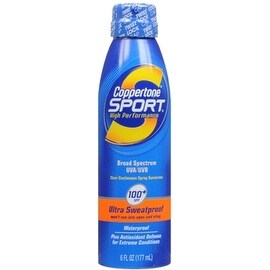 Coppertone Sport 6-ounce Sunscreen Clear Continuous Spray SPF 90