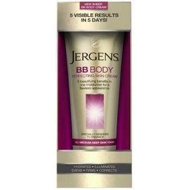 Jergens BB Body Skin Perfecting Cream, All Medium Deep Skin Tones 7.50 oz