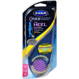 Dr. Scholl's Heel Pain Relief Orthotics Women's 5-12 1 Pair