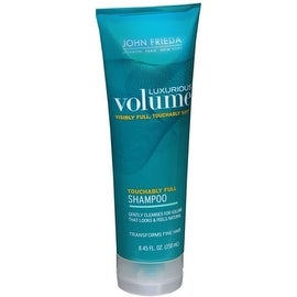John Frieda Luxurious Volume Touchably Full 8.45-ounce Shampoo