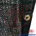 16' x 20' - MP 50% shade cloth, shade fabric, sun shade, shade sail (black color)  (MN-MS50-B1620) - Thumbnail 1