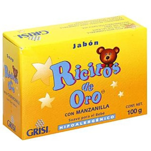 Grisi Ricitos De Oro Hypoallergenic for Babies Bar Soap 3.5 oz