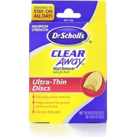 Dr. Scholl's Clear Away Wart Remover Medicated Discs (18 Each)