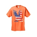 Men's T-Shirt USA Flag American Bald Eagle Stars & Stripes Old Glory Pride Patriotic - Thumbnail 6