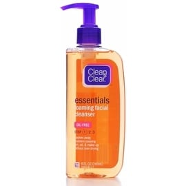 CLEAN & CLEAR Essentials Foaming Facial Cleanser 8 oz