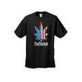 USA Flag Men's T Shirt Weed the People Stars & Stripes Pot Marijuana Smoking - Thumbnail 8